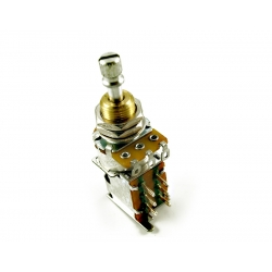POT PUSH PUSH 3/8 inch 250K W/DPDT SWITCH US SPEC