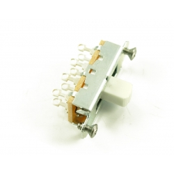 SLIDE SWITCH MUSTANG®/DUOSONIC® WHITE