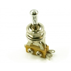 LP® TOGGLE SWITCH CHROME/ METAL TIP