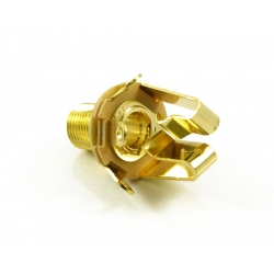 SWITCHCRAFT JACK 1/4 EXTRA LONG GOLD STEREO