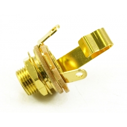 SWITCHCRAFT® JACK 1/4 INCH GOLD PLATE