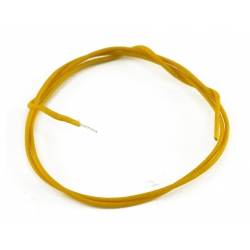 GAVITT® VINTAGE CLOTH WIRE YELLOW PER FOOT