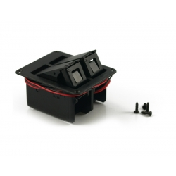 GOTOH® 9 VOLT DOUBLE BATTERY BOX