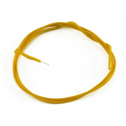 GAVITT® VINTAGE CLOTH WIRE YELLOW 25FT. ROLL