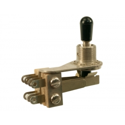 SWITCH TOGGLE DPDT 3 -WAY