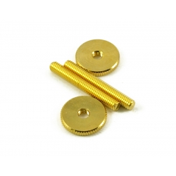 TUNEOMATIC SCREW & WHEEL GOLD PAIR