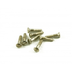 SLOT HEAD STRAT® JACKPLATE SCREW - VINTAGE (4)