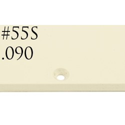 """BLANK PARCHMENT SOLID 228x393mm x 2,29mm """".090"""""""