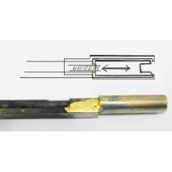 Double-Dual-Action Trussrod bass, 590 x 6 x 8.5mm