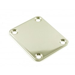 4 HOLE NECKPLATE NICKEL