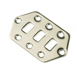 JAGUAR® SWITCH PLATE - CHROME