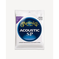 Martin MSP4050 SP 92/8 Phosphor Bronze, Custom Light