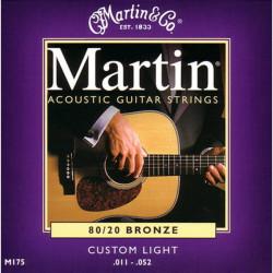 Martin 11/52 M175 80/20 Bronze strenge
