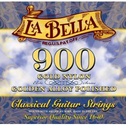 900 ELITE – GOLD NYLON, POLISHED GOLDEN ALLOY