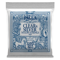 Clear & Silver Nylon Strings