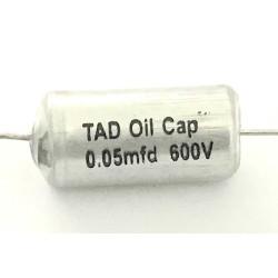 0.05uF @ 600V TAD Vintage Oil Caps / Paper-In-Oil