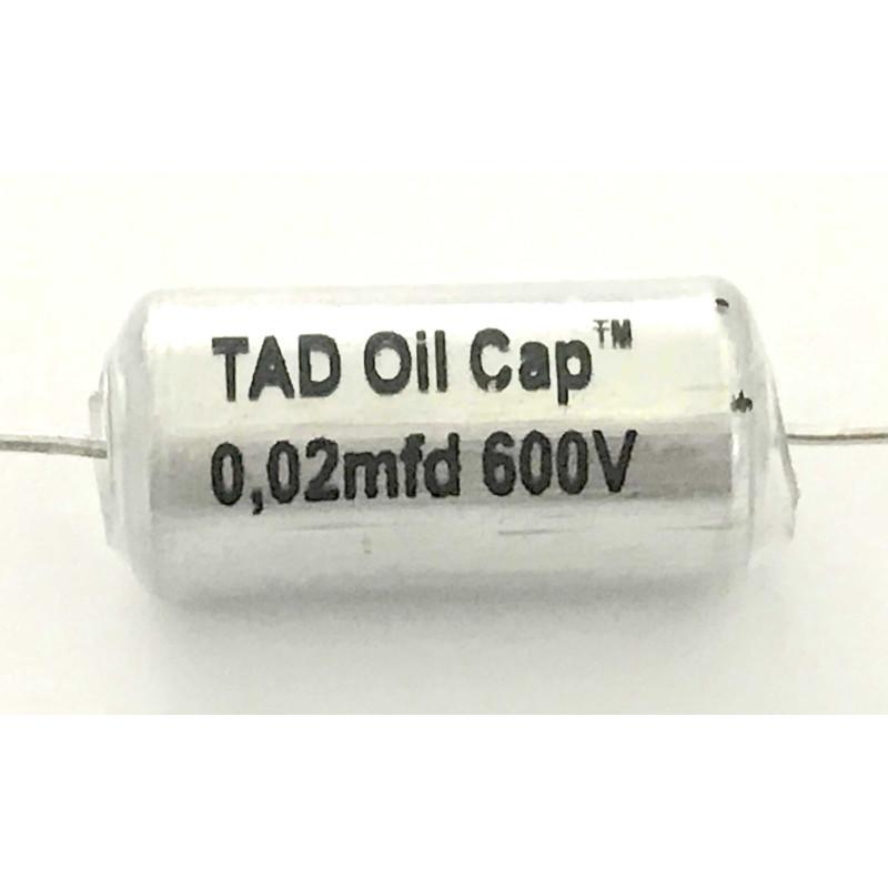 0.02uF @ 600V TAD Vintage Oil Caps / Paper-In-Oil