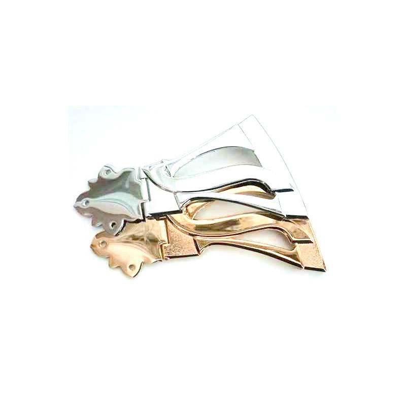 Wavey Style Tail Piece Gold