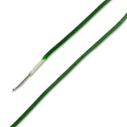 Green - Gavitt Single Conductor Vintage Cloth Wire