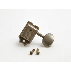 """Relic """"Vintage Oval"""" Tuners / 6L / Aged Nickel"""