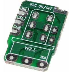 Push-Push PCB On-Off