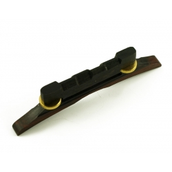MANDOLIN BRIDGE EBONY GOLD