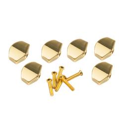 Button set (6 pcs) for Gotoh - Schaller mini style Gold